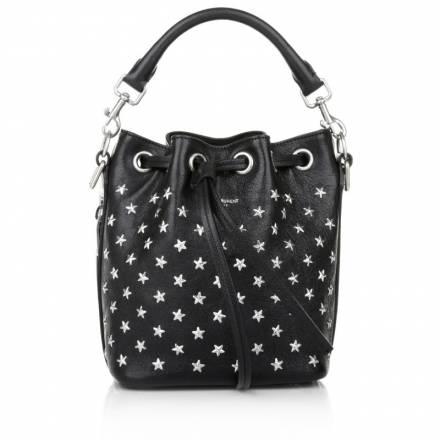 Saint Laurent Saint Laurent Small Bucket Bag With Star Studs Black Handtaschen