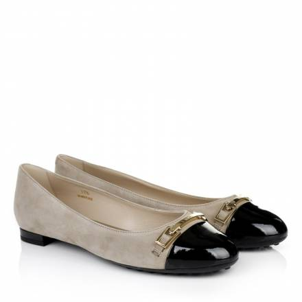 Tods Tods Ballerina With Clamp Beige Accessoires