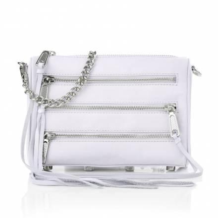 Rebecca Minkoff Rebecca Minkoff Mini 5 Zip Ice Handtaschen