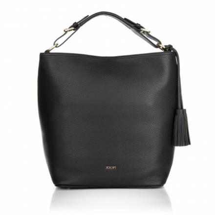 Joop  Joop! Mina Nature Grain Hobo Large Black Handtaschen