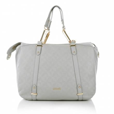 Liu Jo Liu Jo Diamante Shopping Bag Large Cement Handtaschen