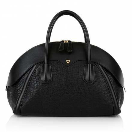 Mcm Mcm Marion Bowler Medium Black Handtaschen