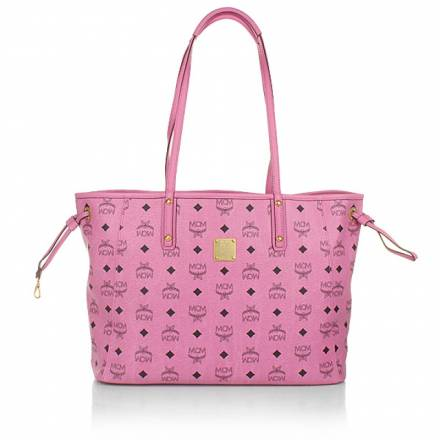 Mcm Mcm Shopper Project Reversible Shopper Medium Pink Handtaschen
