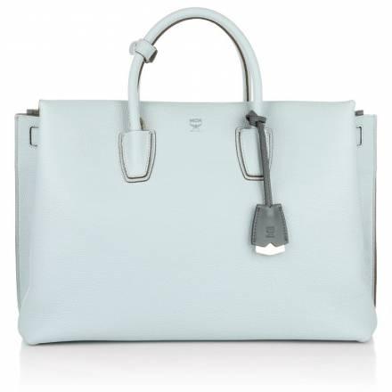 Mcm Mcm Milla Tote Large Concrete Grey Handtaschen