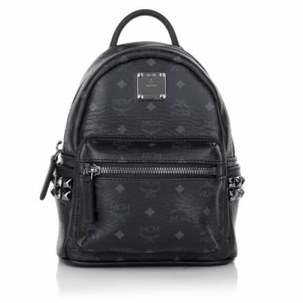 Mcm Mcm Stark Backpack X Mini Black Handtaschen
