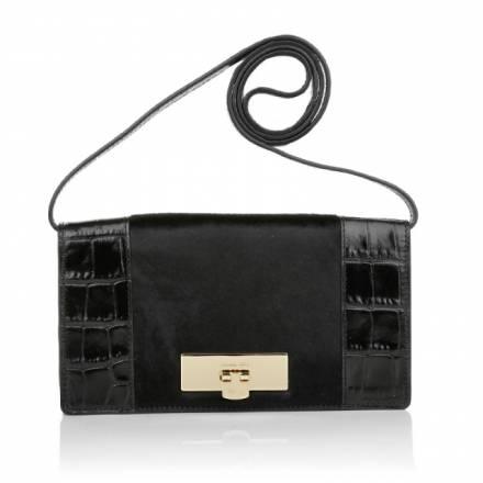 Michael Kors Michael Michael Kors Callie Ns Clutch Black Handtaschen