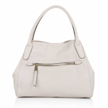 Abro Abro Adria Leather Handbag Beige Handtaschen