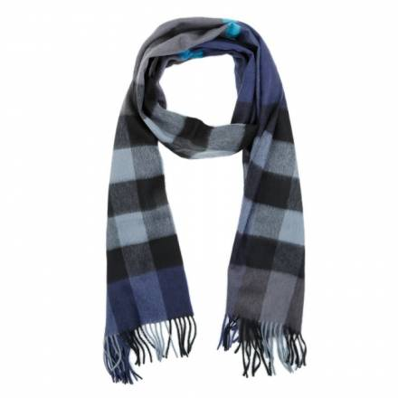 Burberry Burberry Burberry Scarf Cashmere Bright Navy Accessoires