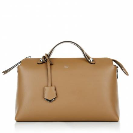 Fendi Fendi By The Way Bauletto Grande Dolce Brown Handtaschen