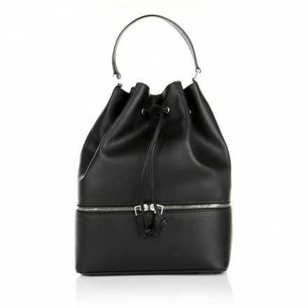 Front Row Society Front Row Society Totem Bucket Bag Smooth Black Grassy Dreams Handtaschen