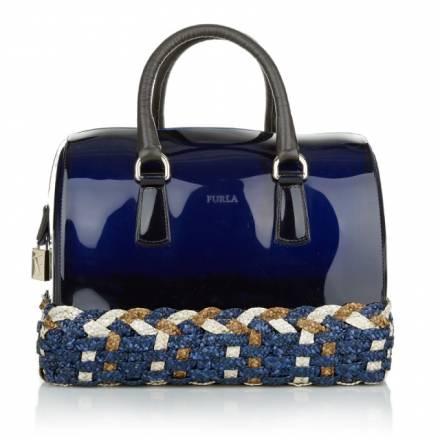 Furla Furla Candy M Satchel Ink + Toni Ink Handtaschen