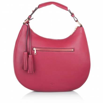 Joop  Joop! Aja Nature Grain Hobo Small Pink Handtaschen