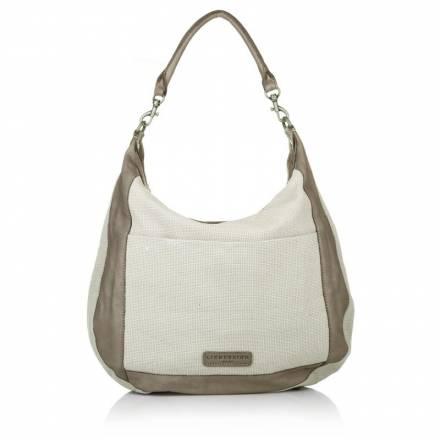 Liebeskind Liebeskind Avra Cotton Structure Brown Handtaschen