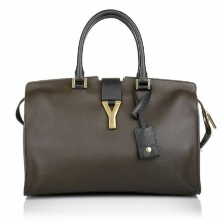Saint Laurent Saint Laurent Sac Ligne Y Brown Black Handtaschen