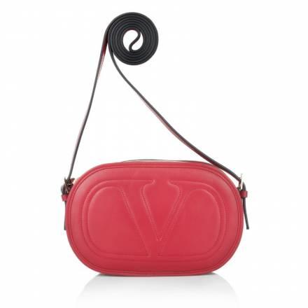 Valentino Valentino Retro Crossbody Bag Deep Rose Handtaschen