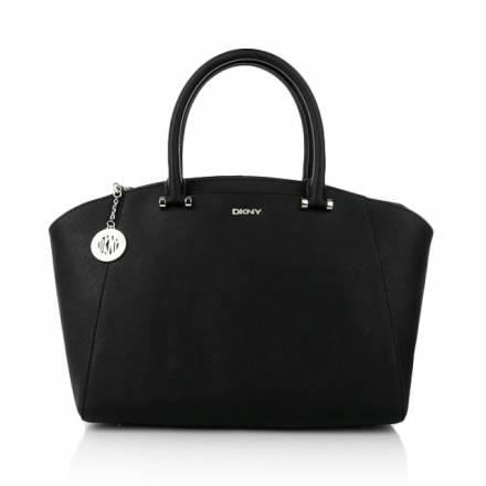 Dkny Dkny Bryant Park Saffiano Bag Black Handtaschen