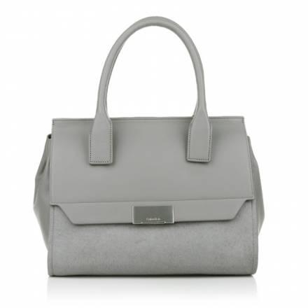 Calvin Klein Calvin Klein Taylor Pony Duffle Pewter Handtaschen