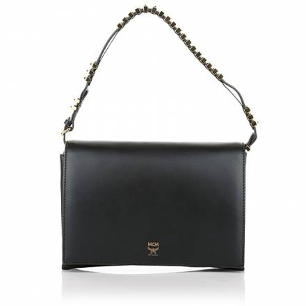 Mcm Mcm Kathy Shoulder Small Black Handtaschen