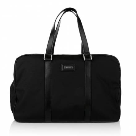 Michael Kors Michael Michael Kors Windsor Nylon Duffle Bag Black Handtaschen