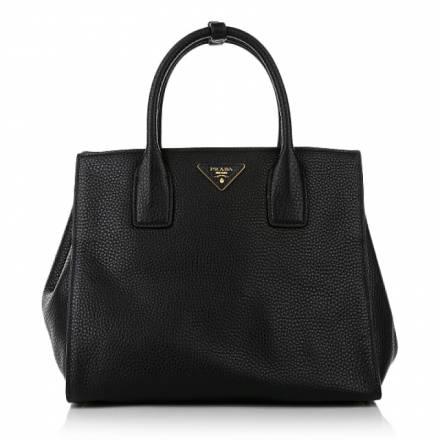 Prada Prada Vitello Daino Shopping Nero Handtaschen