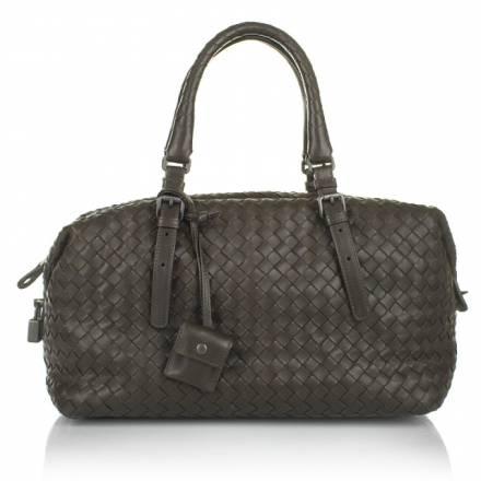 Bottega Veneta Bottega Veneta Intrecciato Nappa Continental Bag Brown Handtaschen