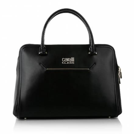 Cavalli Class Cavalli Class Aline Large Handbag Black Handtaschen