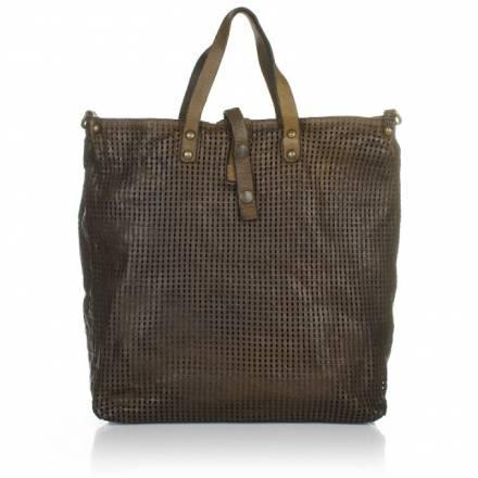 Campomaggi Campomaggi Leather Bag Verde Militare Handtaschen