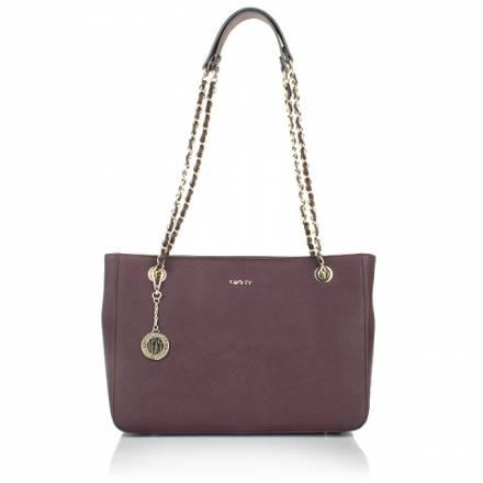 Dkny Dkny Bryant Park Saffiano Handbag Bordeaux Handtaschen