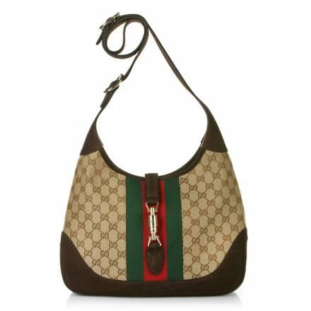 Gucci Gucci Shoulder Bag Jackie Gg Canvas Handtaschen
