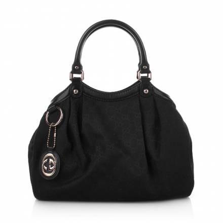 Gucci Gucci Sukey Small Bag Black Textile Handtaschen