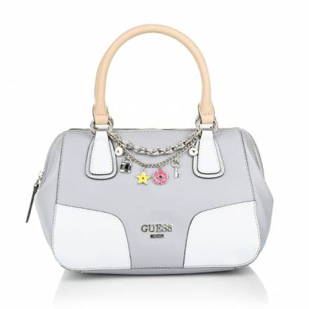 Guess Guess Girlfriend Small Frame Satchel Dove Handtaschen