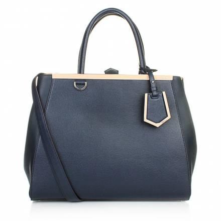 Fendi Fendi Shopping 2jours Vitello Blush Handtaschen