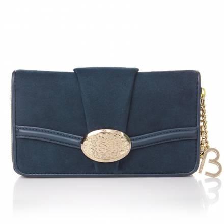 Lancel Lancel Le Brigitte Bardot Wallet Midnight Blue  Accessoires