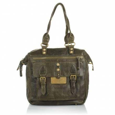 Liebeskind Liebeskind Clansy Lamb Leather Brown Handtaschen