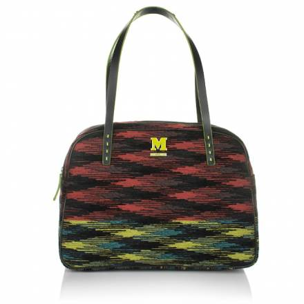 M Missoni M Missoni Cotton Shoulder Bag Ethno Red/multicolour Handtaschen