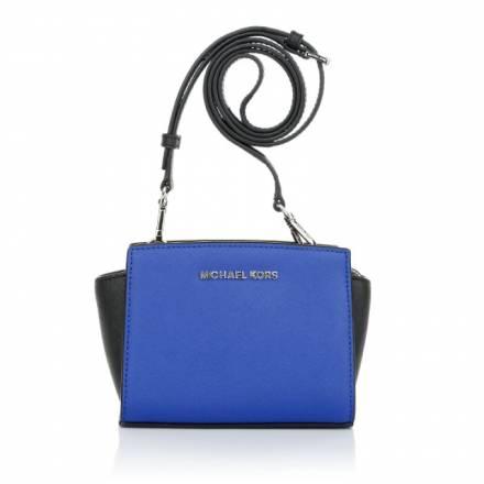 Michael Kors Michael Michael Kors Selma Mini Messenger Electric Blue Handtaschen