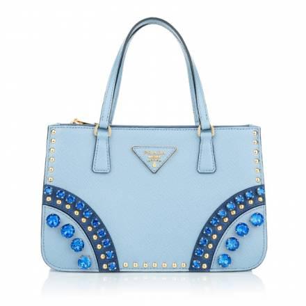 Prada Prada Mini Saffiano Bag Stones And Studs Astral Handtaschen
