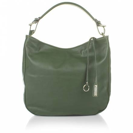 Abro Handbag Leather Match Kiwi