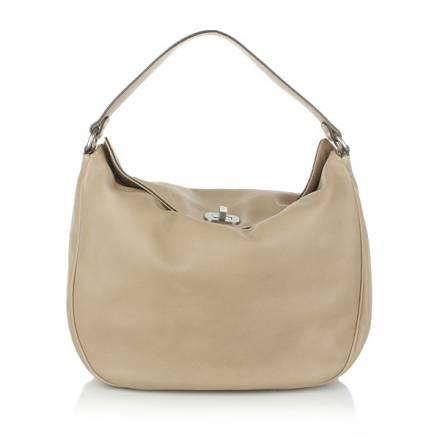 Abro Handbag Leather Braveheart Sahara