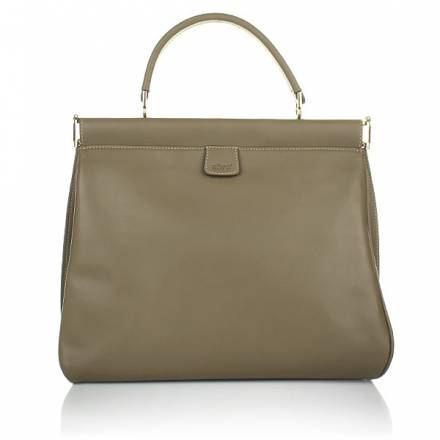 Abro Leather Handbag Cashmere Sahara
