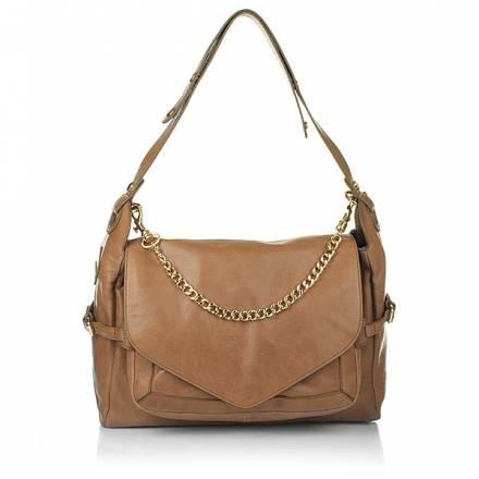 Boss Orange Riana Shoulder Bag Medium Brown