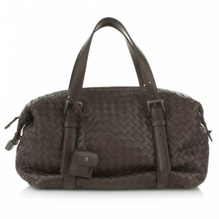 Bottega Veneta Intrecciato Nappa Boston Bag Replica