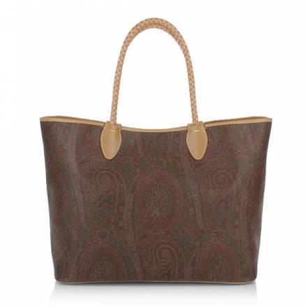 Etro Shopping Bag Brown