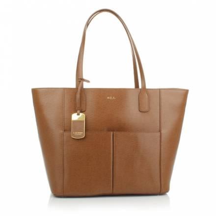 Lauren Ralph Lauren Lauren Ralph Lauren Pocket Tote Cognac Handtaschen