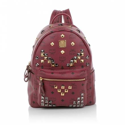 Mcm Stark Backpack Small Red