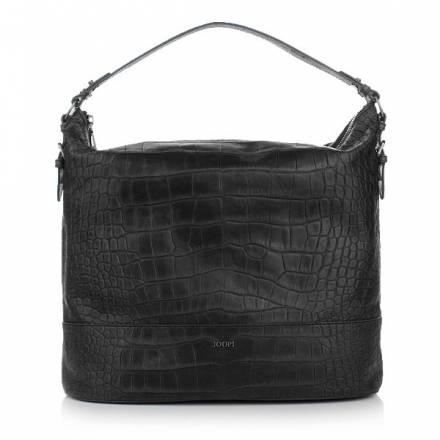 Joop  Joop! Estia Croco Soft Hobo Black Handtaschen