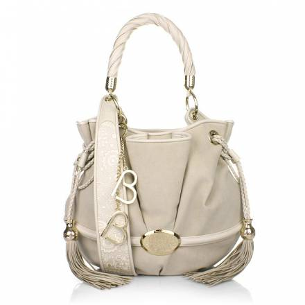 Lancel Le Brigitte Bardot Bucket Bag Ivory