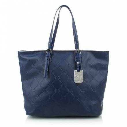 Longchamp Lm Cuir Shopper Marine