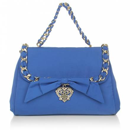 Love Moschino Borsa Nylon Bluette