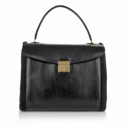 Marc Jacobs Marc Jacobs Majestic Black With Pale Gold Handtaschen
